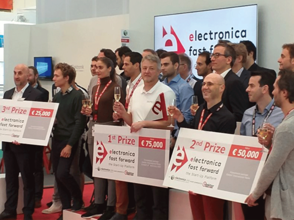 Querom takes third place in the elektronica Fast Forward Award